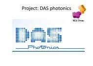 Project: DAS photonics - Universidad Politécnica de Valencia