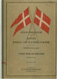Internationale Kendingssignal-Lister over Krigs- og Handelsskibe.