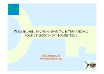 presentation generale CV - Comité Départemental du Tourisme et ...