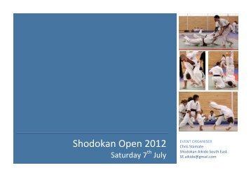 Shodokan Open 2012 - Sport Aikido GB – South East