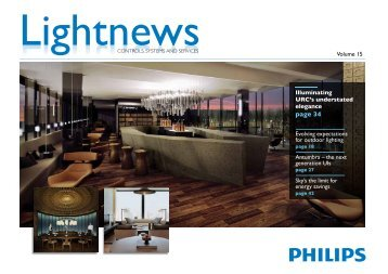 Lightnews Vol 15.pdf - Philips Lighting
