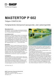 Mastertop P 602.qxp - BASF Construction Chemicals