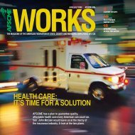 health Care: it's time for a solUtion - AFSCME
