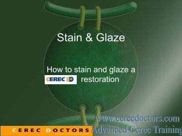 Stain & Glaze