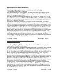 1. Begrüßung 2. Verlesung dl Protokolls 3. Schriftl. Ein ... - Web99.de
