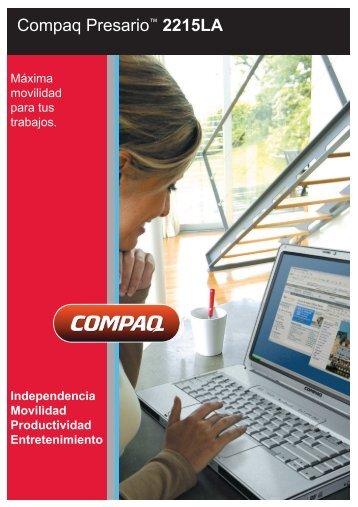 Compaq Presario M2215LA.pdf - XP Notebooks