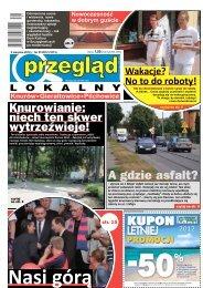 Przegląd Lokalny Nr 31 (1013) 2 sierpnia 2012 roku