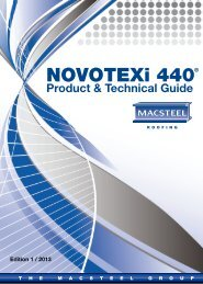 NOVOTEXi 440 Product and Technical Guide - Macsteel