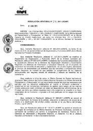 Manual de Organización y Funciones (MOF) - ONPE