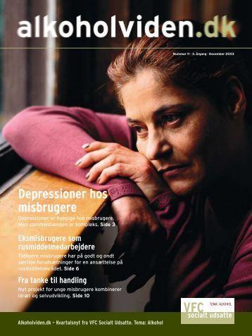 Depressioner hos misbrugere - Servicestyrelsen