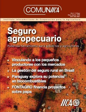 Seguro agropecuario - Instituto Interamericano de Cooperación ...