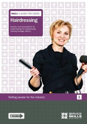 Hairdressing - Service Skills
