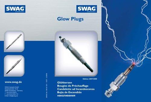 6x Bujia precalentamiento adecuado para AUDI VW 2,7 3,0 TDI glow plugs