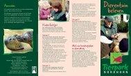 Dierentuin beleven - Tierpark Nordhorn