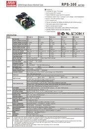 RPS-300-spec - Avnet Abacus