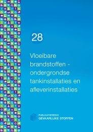 PGS 28 Vloeibare brandstoffen - Publicatiereeks Gevaarlijke Stoffen