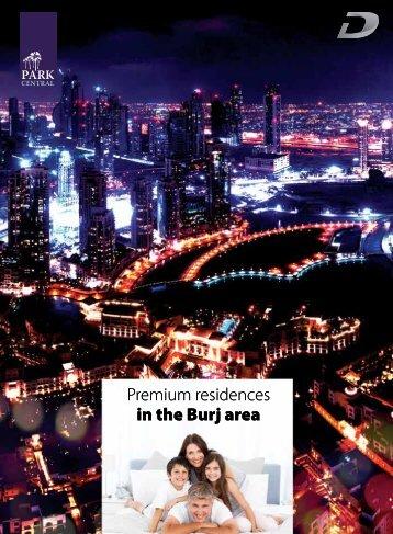 Premium residences in the Burj area Premium residences in the Burj ...