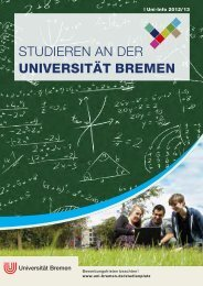 das lehramt in bremen - Universität Bremen