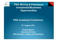 3.4 Greg Anderson, PNG Chamber of Mines.pptx - Business ...