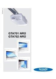 GTA701 NRG GTA702 NRG - Plus Porte