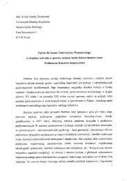 Prof. dr hab. Maciej Grochowski Uniwersytet Mikołaja Kopernika ...