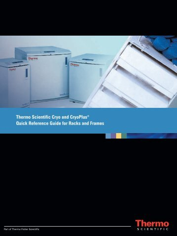 Thermo Scientific Cryo and CryoPlus®  Quick Reference Guide for ...