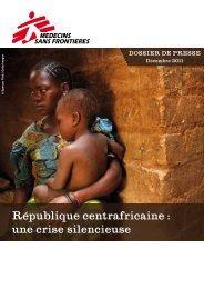 République centrafricaine : une crise silencieuse. Et un ... - Sangonet