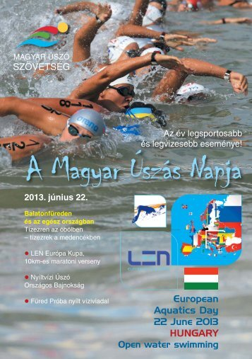 A Magyar Úszás Napjával kapcsolatos elképzeléseinket