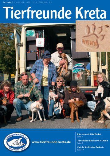 Kreta News Ausgabe 7 - Tierfreunde-Kreta e.V.