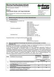 Sicherheitsdatenblatt - thomas gruppe