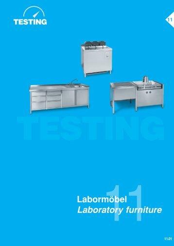 Labormöbel Laboratory furniture