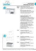 Labormöbel Laboratory furniture - Seite 3