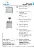 Labormöbel Laboratory furniture - Seite 7