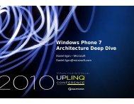 PDF Presentation - Uplinq