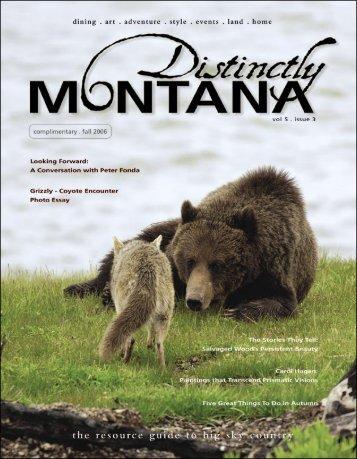 Distinctly Montana, 2006 - Big Sky Youth Empowerment