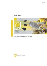 Harting Ethernet Catalog - Bosch Rexroth