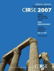 CIRSE 2007