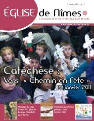 Catéchèse : - Diocèse de Nîmes, Uzès, Alès