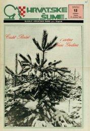 HRVATSKE ŠUME 12 (24.12.1992)