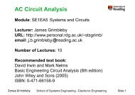 AC Circuit Analysis AC Circuit Analysis