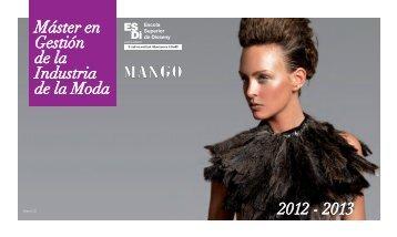 Guía del Máster en Gestión de la industria de la moda y el ... - ESDi