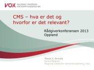 CMS – hva er det og hvorfor er det relevant?