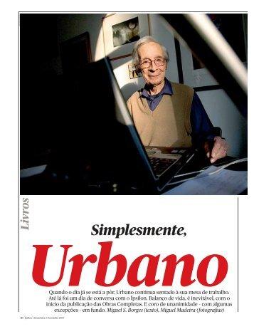 Urbano Tavares Rodrigues - Público
