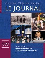 Journal de Saclay n°19 - CEA Saclay