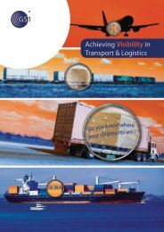 Download Achieving Visibility in Transport & Logistics brochure - GS1