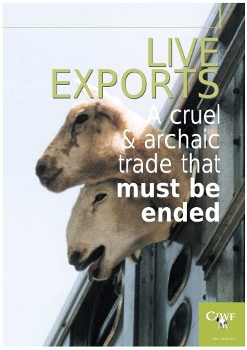 Live exports - Compassion in World Farming