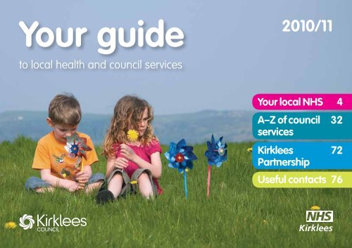 Your Guide To Local Health And Council Services Nhs Kirklees