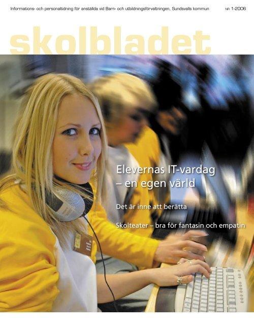 skolbladet 1.06.indd - Sundsvall