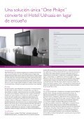 Solución llave en mano Caso Práctico Ushuaia Hotel - Philips Lighting - Page 3