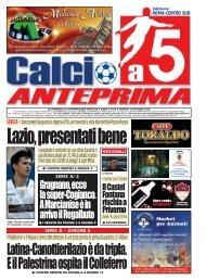 calcio a 5 anteprima 43/10 CS